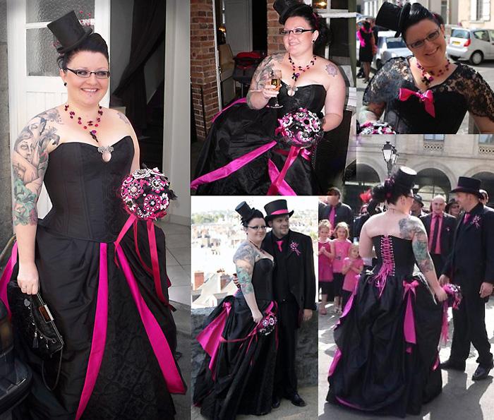 robe de mariee originale baroque colorée corset Volute Orléans Loiret