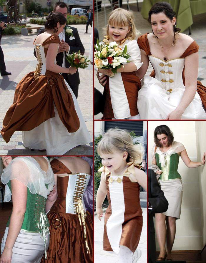 robe de mariage victorienne