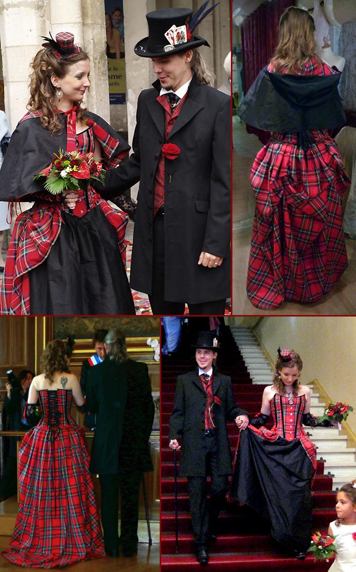 Robes de mariée victorienne