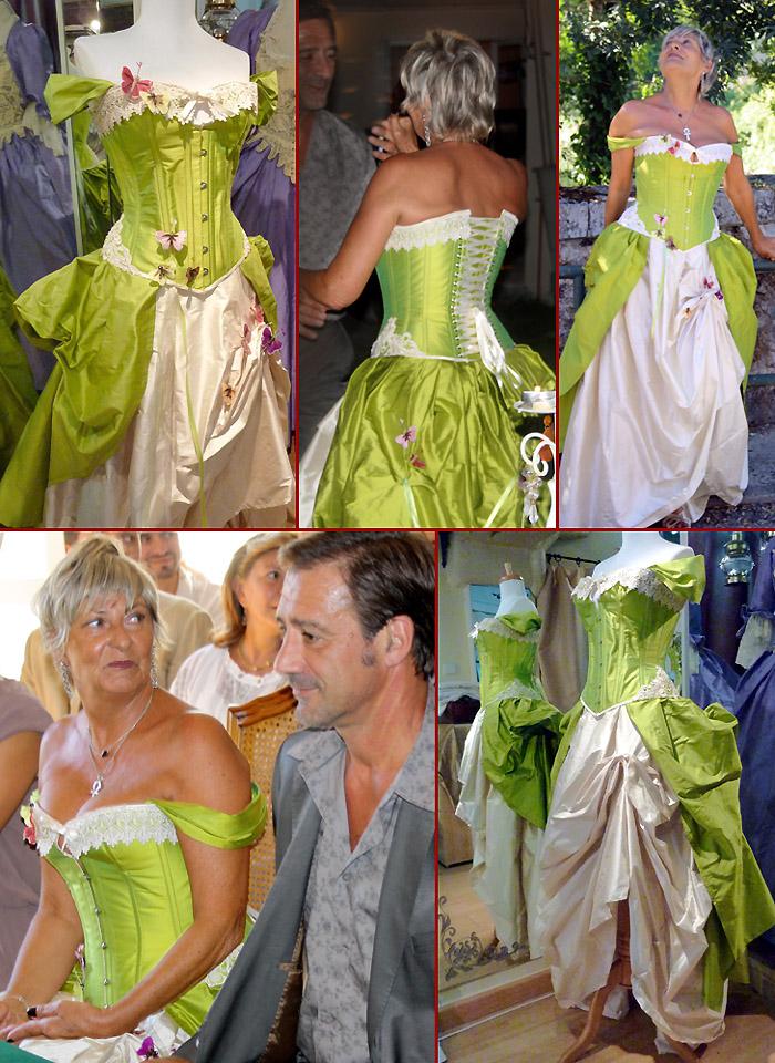 Robe de mariee createur sur mesure
